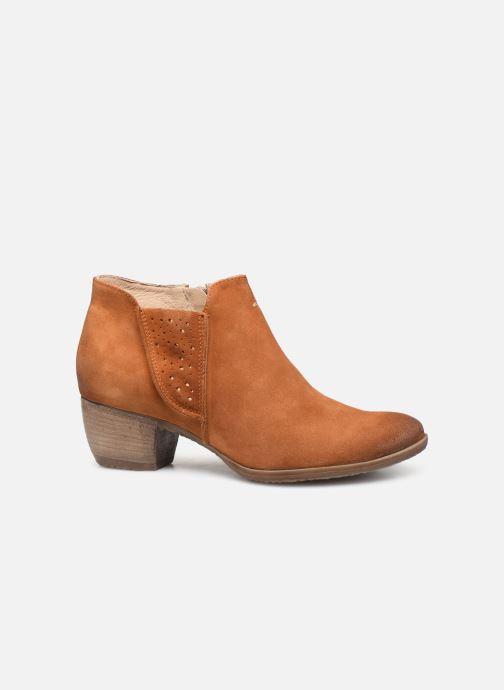 Bottines et boots Khrio 11079 Orange vue derrière