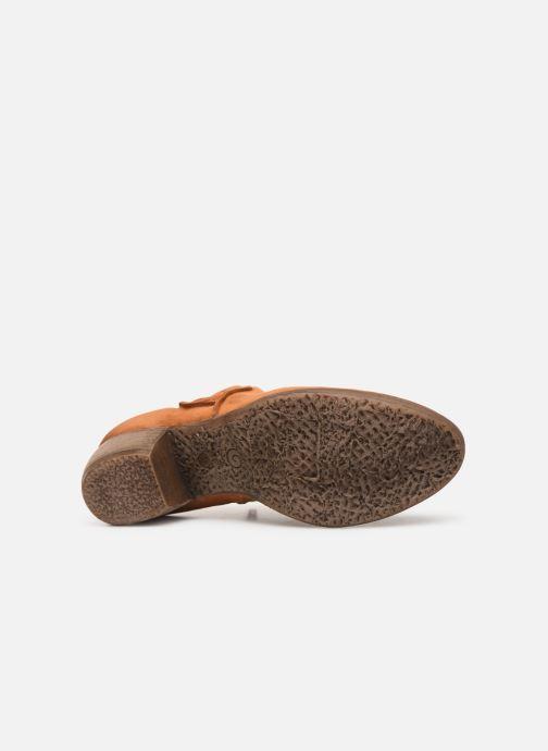 Bottines et boots Khrio 11079 Orange vue haut