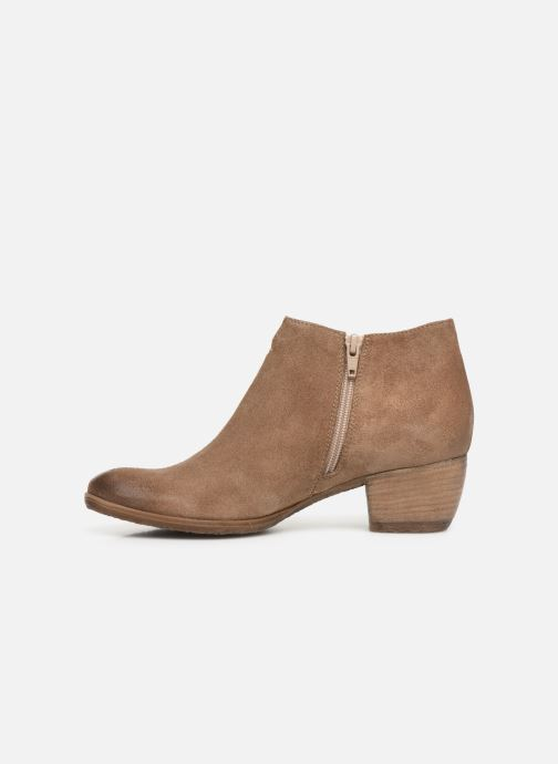 Ankle boots Khrio 11079 Brown front view