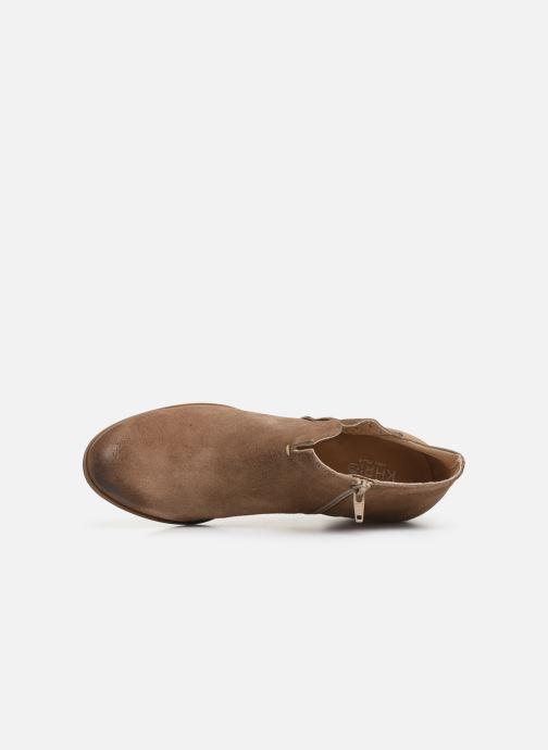 Bottines et boots Khrio 11079 Marron vue gauche