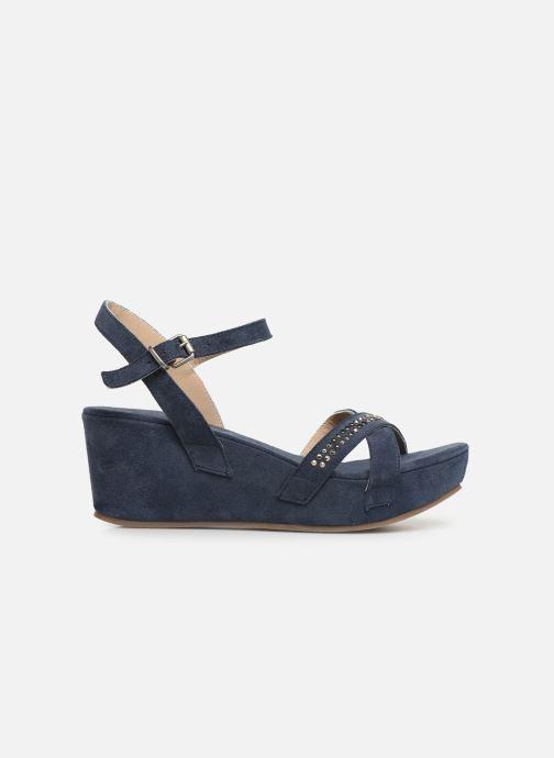 Sandales et nu-pieds Khrio 11087 Bleu vue derrière