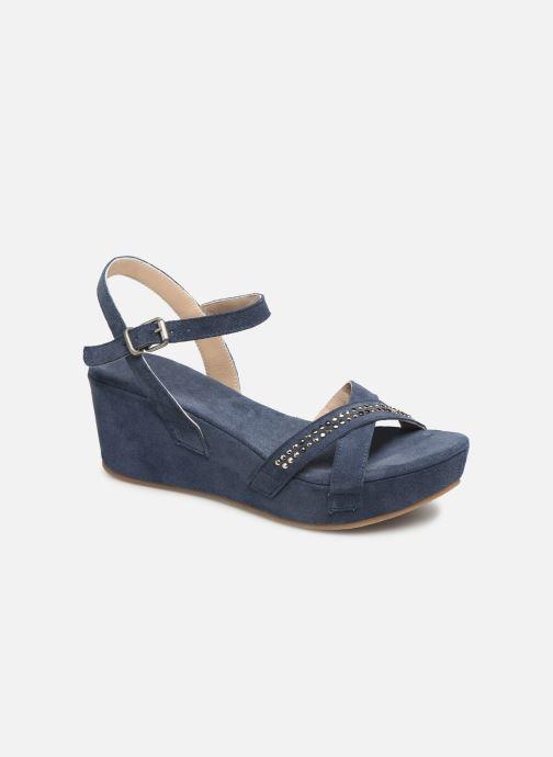 Sandales et nu-pieds Khrio 11087 Bleu vue détail/paire