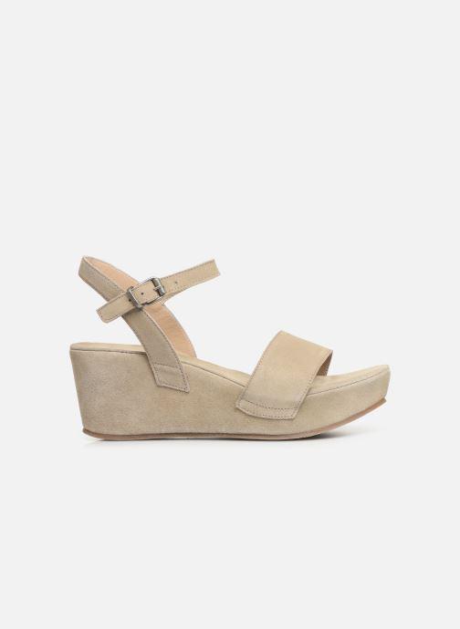 Sandales et nu-pieds Khrio 11088 Beige vue derrière
