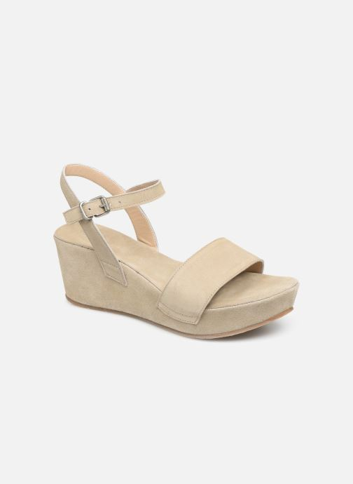 Sandales et nu-pieds Khrio 11088 Beige vue détail/paire