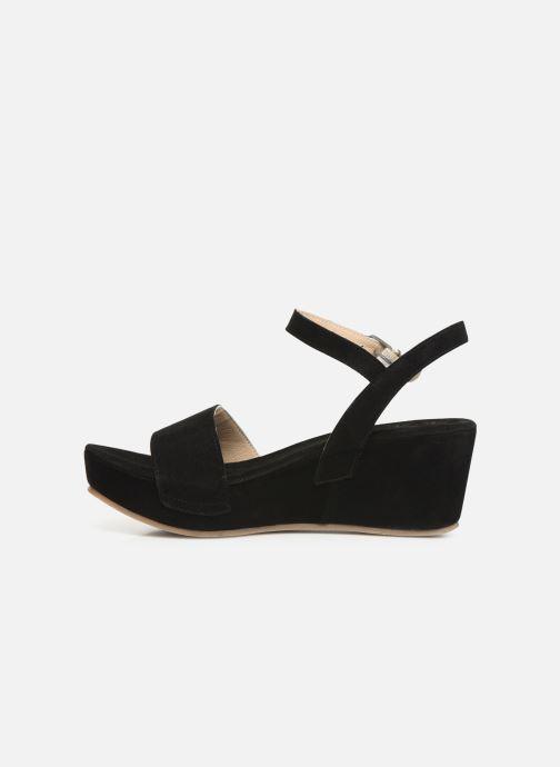 Sandales et nu-pieds Khrio 11088 Noir vue face