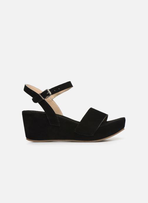 Sandales et nu-pieds Khrio 11088 Noir vue derrière