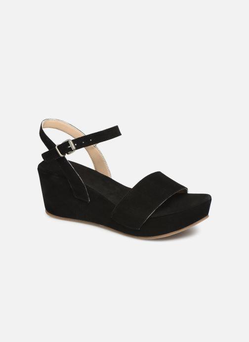 Sandales et nu-pieds Khrio 11088 Noir vue détail/paire