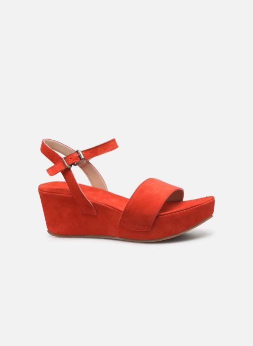Sandales et nu-pieds Khrio 11088 Orange vue derrière