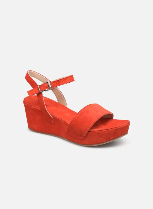 Sandales et nu-pieds Khrio 11088 Orange vue détail/paire