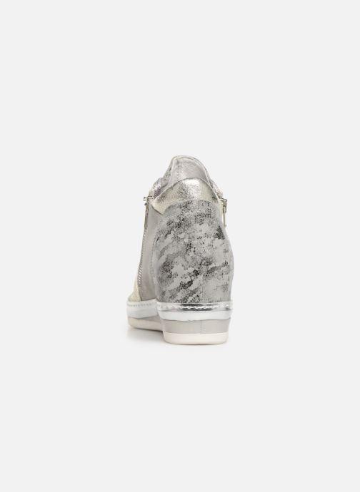 Sneaker Khrio Alumtoo silber ansicht von rechts