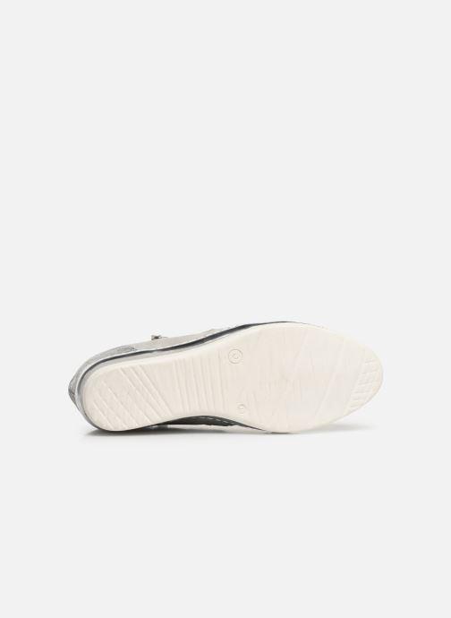Sneaker Khrio Alumtoo silber ansicht von oben