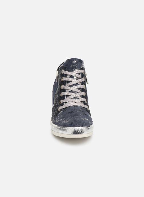 Baskets Khrio Alumtoo Bleu vue portées chaussures