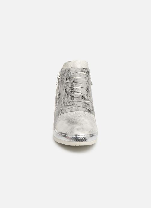 Baskets Khrio Funiba Argent vue portées chaussures