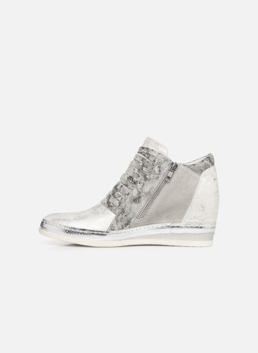 Sneaker Khrio Funiba silber ansicht von vorne