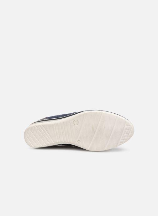 Sneaker Khrio Funiba blau ansicht von oben
