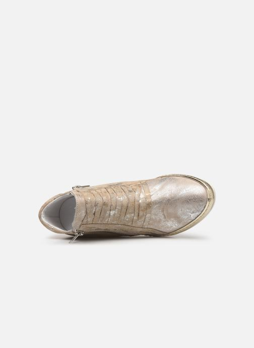 Bronze Chez Khrio Baskets Et or Funiba qOgw6tX