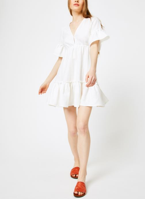 Ropa Billabong Sincerely Jules x Billabong - Lovers wish dress Blanco vista de abajo