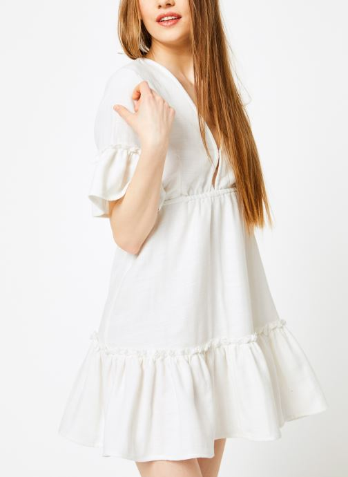 Ropa Billabong Sincerely Jules x Billabong - Lovers wish dress Blanco vista lateral derecha