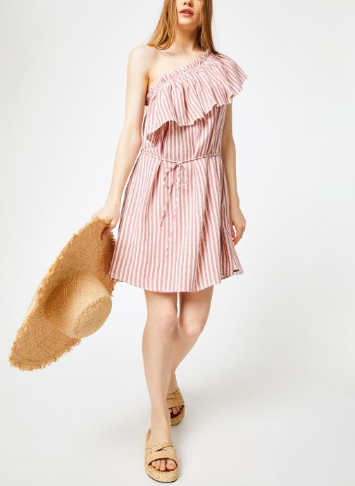 Vêtements Billabong Sincerely Jules x Billabong - Right minded dress Rouge vue bas / vue portée sac