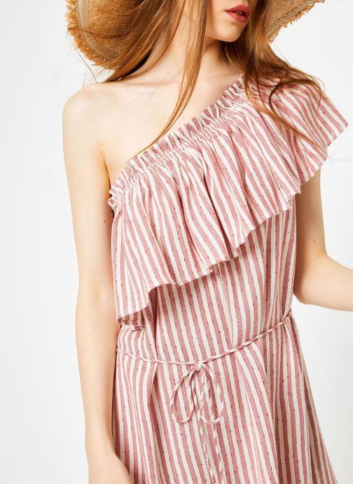 Vêtements Billabong Sincerely Jules x Billabong - Right minded dress Rouge vue face