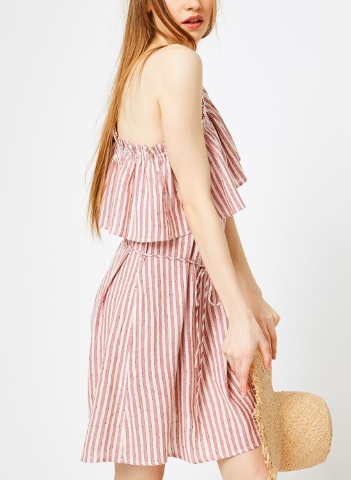 Vêtements Billabong Sincerely Jules x Billabong - Right minded dress Rouge vue droite