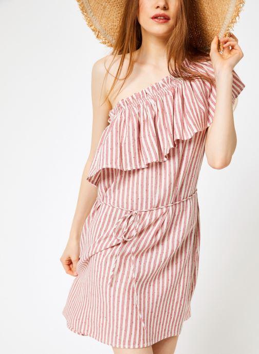 Vêtements Billabong Sincerely Jules x Billabong - Right minded dress Rouge vue détail/paire