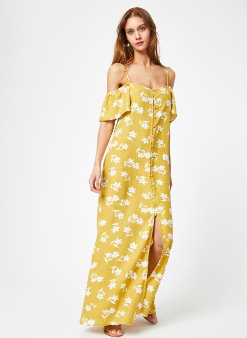 Vêtements Billabong Sincerely Jules x Billabong - Shoulder sway dress Jaune vue bas / vue portée sac