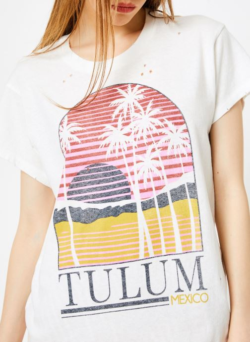 Vêtements Billabong Sincerely Jules x Billabong - Perfect boy t-shirt Blanc vue face