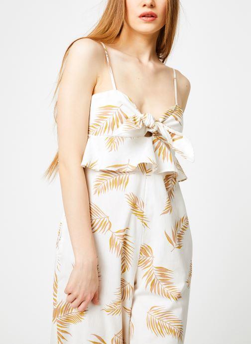 Vêtements Billabong Sincerely Jules x Billabong - Twist flirt combi Blanc vue droite