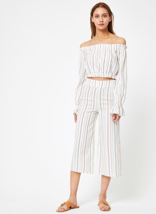 Vêtements Billabong Sincerely Jules x Billabong - Tulum weathers top Blanc vue bas / vue portée sac