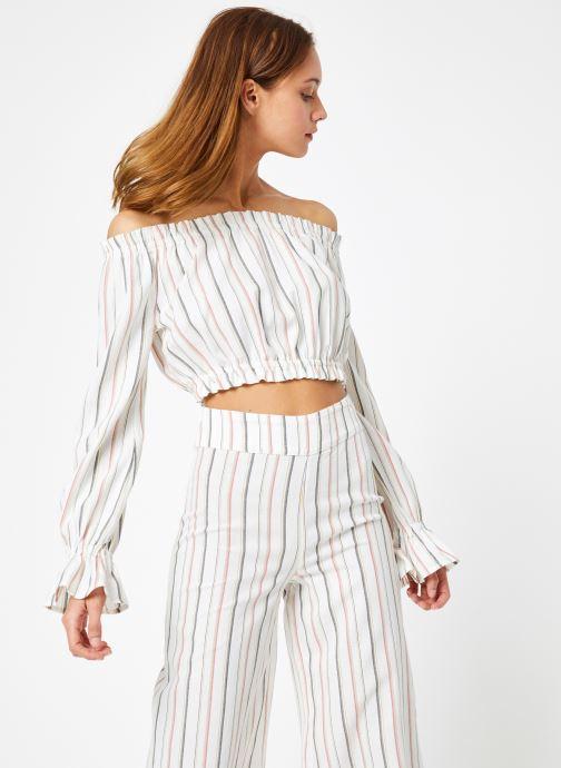 Vêtements Billabong Sincerely Jules x Billabong - Tulum weathers top Blanc vue droite