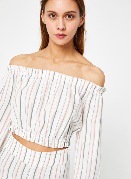 Vêtements Billabong Sincerely Jules x Billabong - Tulum weathers top Blanc vue détail/paire