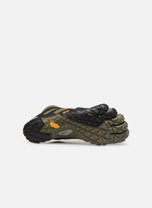 Chaussures de sport Vibram FiveFingers V-TRAIL 2.0 Vert vue haut