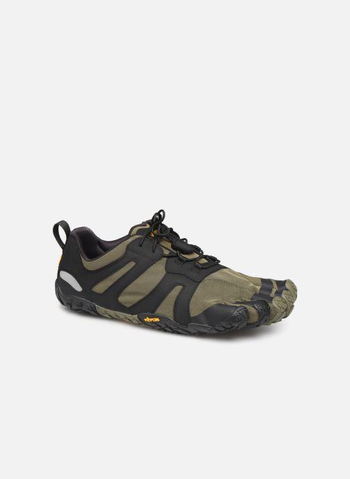Chaussures de sport Vibram FiveFingers V-TRAIL 2.0 Vert vue détail/paire