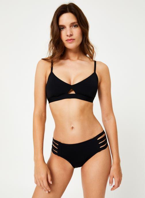 Vêtements Seafolly Active Hybrid Bralette Noir vue droite