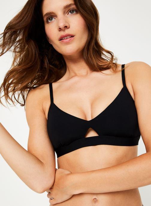 Vêtements Seafolly Active Hybrid Bralette Noir vue détail/paire