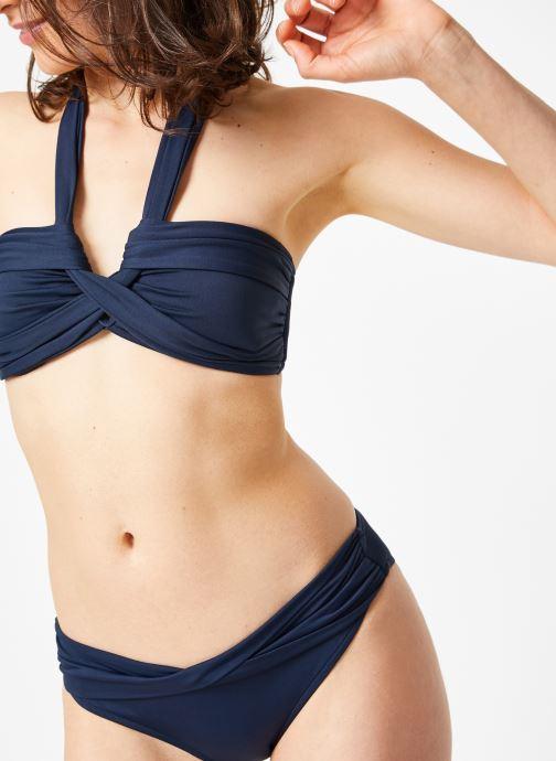 Vêtements Seafolly SEAFOLLY TWIST BAND HIPSTER Bleu vue détail/paire