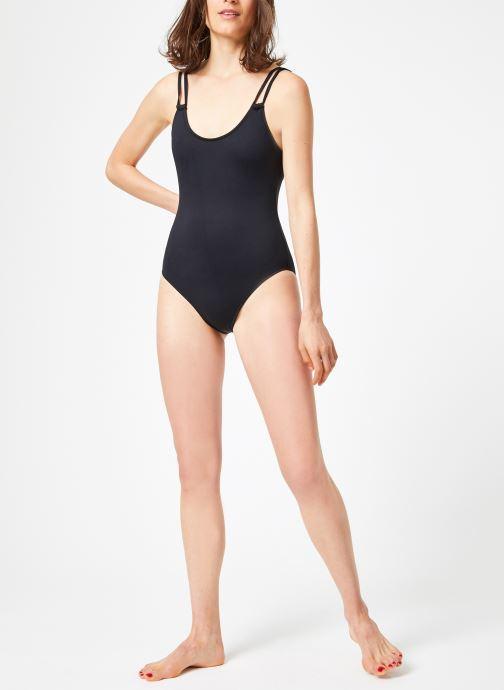 Vêtements Seafolly SEAFOLLY DOUBLE STRAP Noir vue bas / vue portée sac