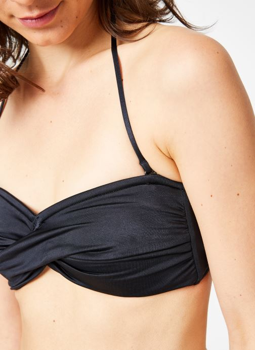 Vêtements Seafolly SHINE ON TWIST BANDEAU Noir vue face