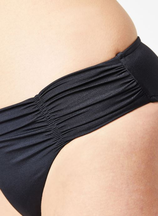 Vêtements Seafolly SHINE ON GATHERED FRONT RETRO Noir vue face