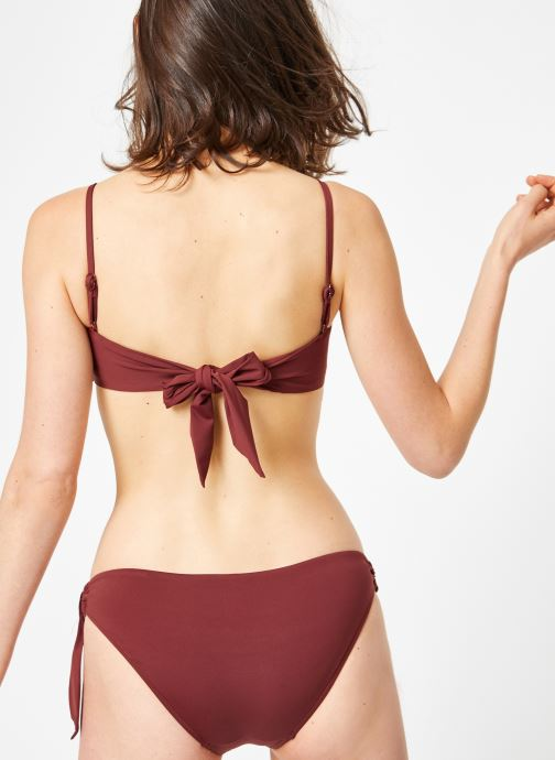 Kleding Seafolly ACTIVE RING SIDE HIPSTER Bordeaux model