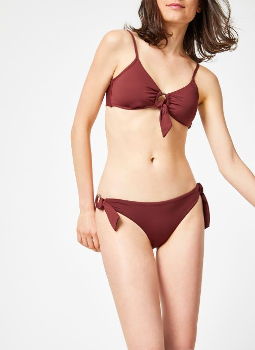 Kleding Seafolly ACTIVE RING SIDE HIPSTER Bordeaux rechts