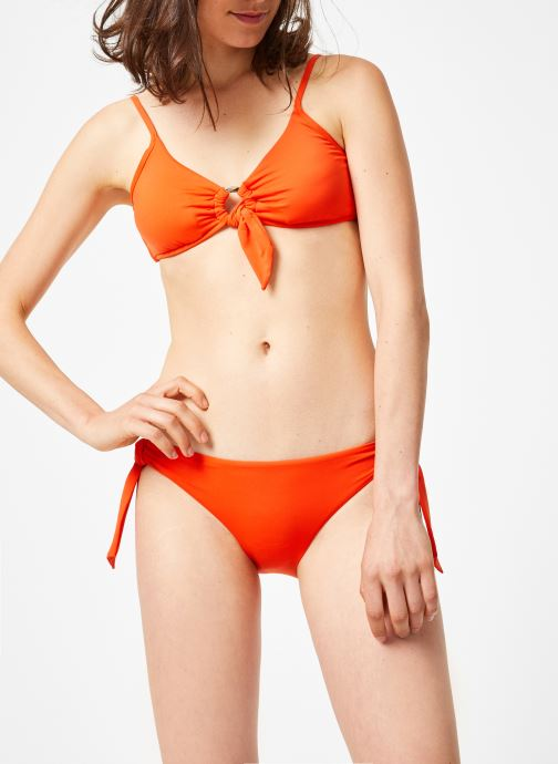 Vêtements Seafolly ACTIVE RING SIDE HIPSTER Orange vue droite