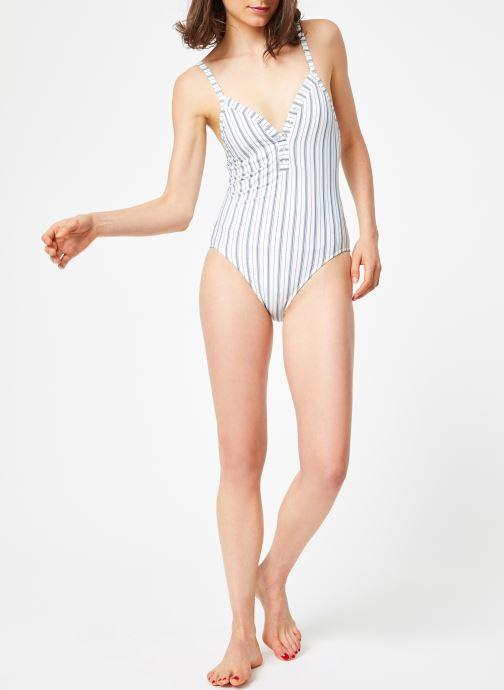 Vêtements Seafolly SEA STRIPE Blanc vue bas / vue portée sac