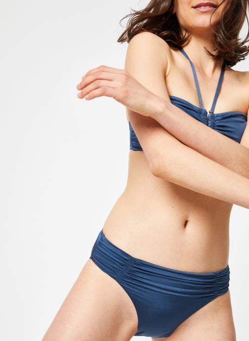 Vêtements Seafolly SHINE ON DD U TUBE Bleu vue détail/paire