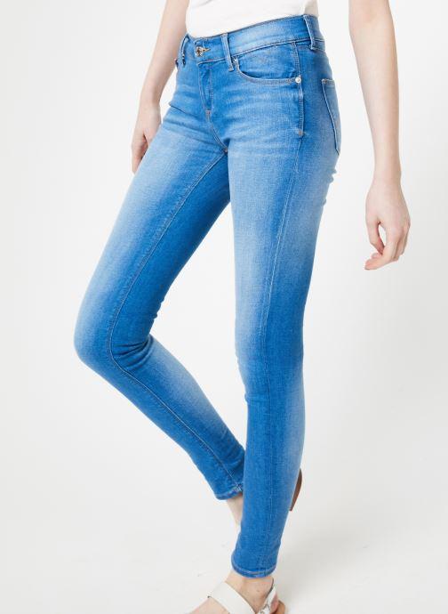 Vêtements Tommy Jeans MID RISE SKINNY NORA Bleu vue détail/paire