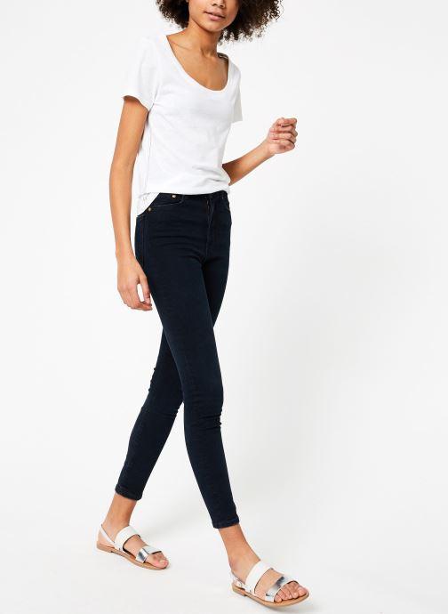 Vêtements Tommy Jeans TJW ORIGINAL TRIBLEND TEE Blanc vue bas / vue portée sac