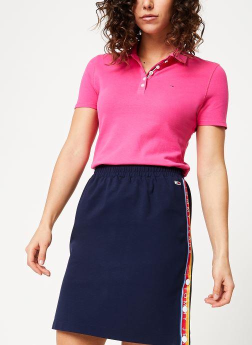 Tjw Polo Chez Jeans 366479 rose Essential Tommy Vêtements t4Owx5p