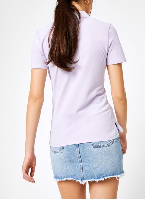 Polos Tommy VêtementsT Et Lilac Essential shirts Polo Tjw Jeans Pastel v8Oynwm0NP
