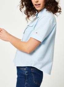 Vêtements Accessoires TJW SEERSUCKER STRIPE SHIRT